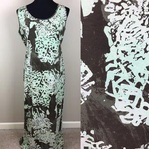 Peruvian Connection sleeveless knit dress size L